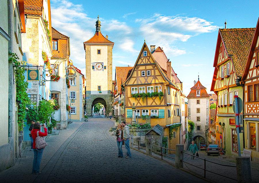 Weekendophold i Tyskland