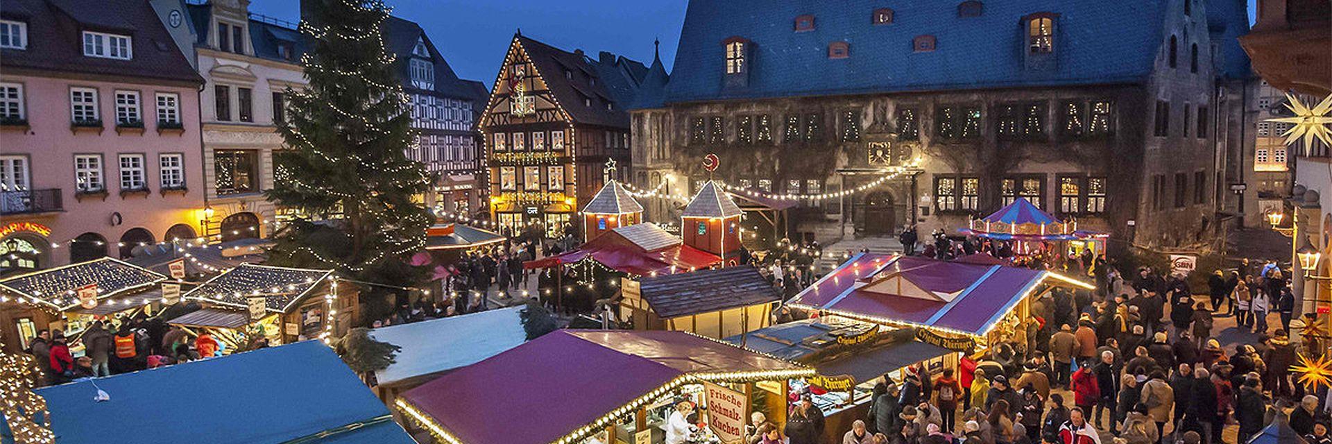 julmarknad i quedlinburg