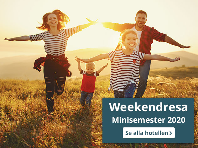 weekendresa minisemester 2020 mobile
