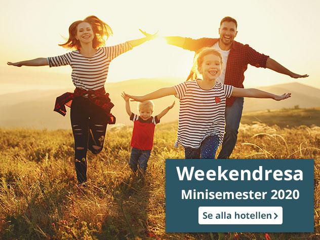 weekendresa minisemester 2020 mobile