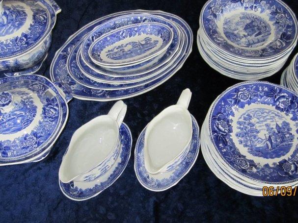 Splinternye Vind en familieferie eller smukt Meissen-porcelæn LH-64