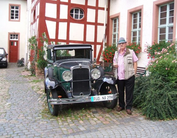 Det var bare så skønt, at sige til folk man havde købt en god gammel bil, og de var helt med på det var en flot gammel model, det havde vi mega meget sjov med for længe siden