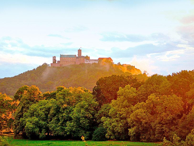 Bo exklusivt och femstjärnigt på den UNESCO-listade borgen Wartburg