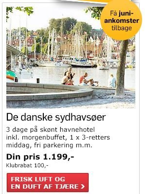 Solskin & hav i Danmark