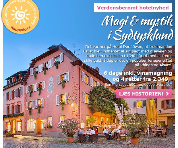 Unik hoteloplevelse i Sydtyskland
