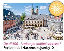 Sommerferie i Goslar