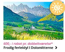 Sommeridyl i Dolomitterne