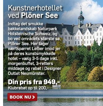 Kunstnerisk hotel ved Plöner See