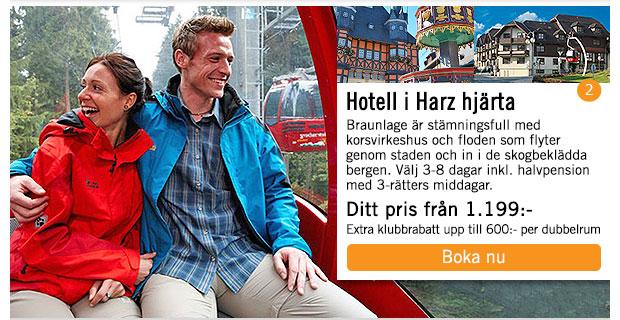 Hotell i hjärat av Harz – upplev Braunlage