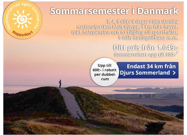 Ta med familjen till Danmark