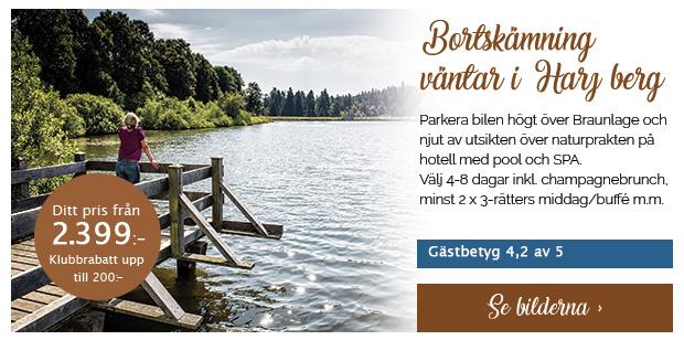 Semester med pool och wellness i Harz
